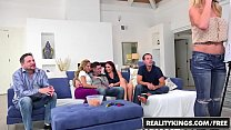 RealityKings - Sneaky Sex - Brad Knight Chloe Amour Monique Alexander Sne - Game Night - download porn videos
