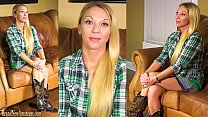 Amateur mommy gets naughty on casting couch porn image