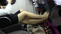 asian girl pantyhose toe