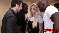 Professor India Summer fed jizz after IR gangbang - download porn videos