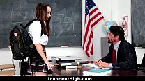 InnocentHigh - School Girl (Nikki Next) Desperate For Teacher's Cock
