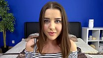 College student  Sybil loves teasing older men asing older men