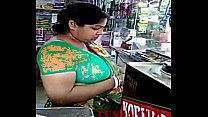 Huge Milk tankers of Indian aunty
