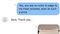 JT is a Finsub & Pays a ton for photos of trash - screenshots!! extreme finsub