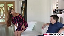 Becoming A Man With Stunning MILF