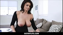 MILF Step Mom Becky Bandini Hypnotizes Step Son Into Fucking Her POV