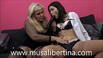 Screenshot Horny salesw oman Valentina Bianco fucks Musa Li...