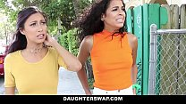 DaughterSwap - Creepy Dads Film Daughters Porn Audition Preview