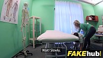 Fake Hospital Big tits horny Milf chiropractor ...