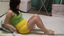 Beautiful Japanese Girl Dildo Masturbation