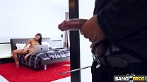 BANGBROS - Gina Valentina Gets Her Pussy Smashed on Monsters of Cock! thumbnail