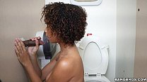 Black Girl Raven Wants To Try Out The Glory Hole (ghl14900) Vorschaubild