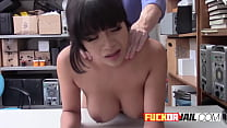 Hot Latin petite who gets busted thumbnail