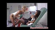 Lesbians Babes Play With Toys