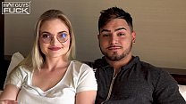 Big Dick Latino Goes Hard On Nerdy Slut With Glasses Then She Gets Director To Titty FUCK Her And Finish All Over Those Big Floppy Teen Cans - VideoMakeLove.Com