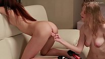 Lesbian massage Lavatta North and Angela Cage - Download mp4 XXX porn videos