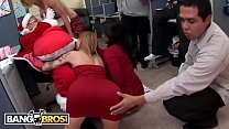 BANGBROS Fuck T eam Five Holiday Christmas Par y Christmas Party Turns Into Org