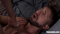 Twink bros ass double penetrated