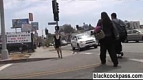 Black cock slut goes out in search of bbc Thumbnail
