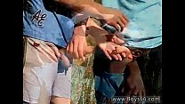 Twink video Roma and Artur Piss Play Outside