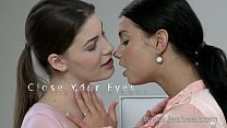 Lesbea HD Young girl feasting on her lover's we...