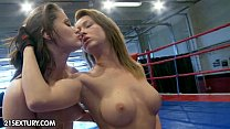 NudeFightClub presents Kitty Cat vs Madlin's Thumb