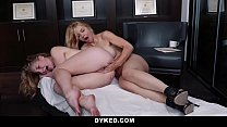 Dyked - Psychologist Training Teen On Licking P... thumb