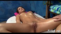 Naked brunette beauty Sara Luvv flaunts her attractive boobs
