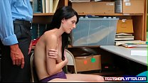 Natural titty teen Alex Harper arrested and fuc...