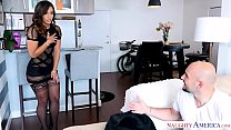 Kelsi Monroe's big ass bounces from a big dick fuck - Naughty America video