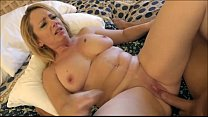 Horny divorced milf fuck with young boy - more on footjobs-tube.com