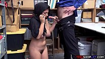 muslim teen with huge tits busted stealing from a store - [spring break blowjob] thumbnail