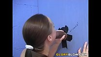 Interracial Gloryhole Blowjob - Anne-Marie image