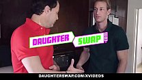 DaughterSwap - Horny Teens Share Daddy Cock - 69VClub.Com