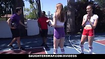 Daughterswap - Horny Teens Share Daddy Cock