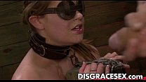 Kayleigh Nichole's First Slave Training Session Goes Well