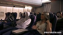 Naked people on a plane