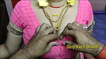 hot Indian mom fucking with her son and take a long black penis in her pussy
