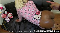HD You Better Not Tell Your Mother I Anal Fucked You In Your Butt Brat! Scared Black Step Daughter Msnovember Ebonyanal By Pervert Daddy, Ebony Bubble Butt Oiled & Assfucked Viciously On Sheisnovember