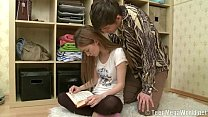 Pretty Student Takes A Creampie By Her Brother