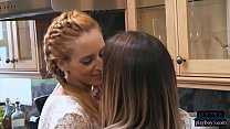 Lesbian cougars love to please each other and get kinky