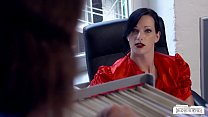 13058 BUMS BUERO - Busty German secretary banged by her colleague in hot office sex preview