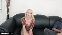 Blonde porn newbie gets railed on the casting couch thumbnail