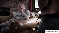 Teen pee her pants in front of dad thumbnail