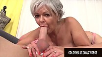 Golden Slut - Older Ladies Show off Their Cock Sucking Skills Compilation 19