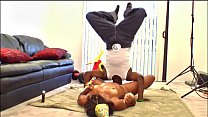 BANGBROS - Jon Q Goes Muff Diving Upside Down And Gets Himself Some Booty Cake
