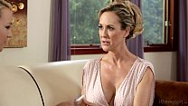 Busty Step-Mother Brandi Love and Carmen Callaway porn thumbnail