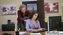Hard Sex Tape In Office With Big Round Tits Sexy Girl (Valentina Nappi) video-30 preview image