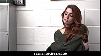 Redhead Teen Shoplifter Aria Carson Fucked By Officer After Deal Is Reached