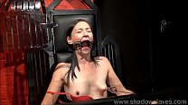 Amateur bdsm and brutal whipping of tied privat...